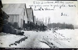 Photo of Susitna Station in the early 1900's graciously loaned by the Nore Collection. Thank you!